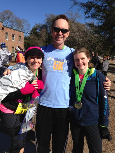 Bill after Charleston Marathon 2013