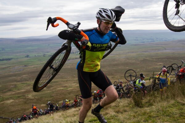 Richard at 3 Peaks Cyclocross