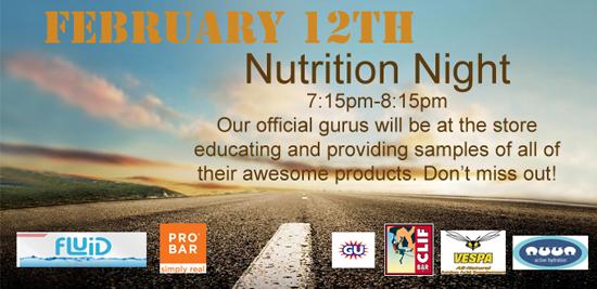 Nutrition Night