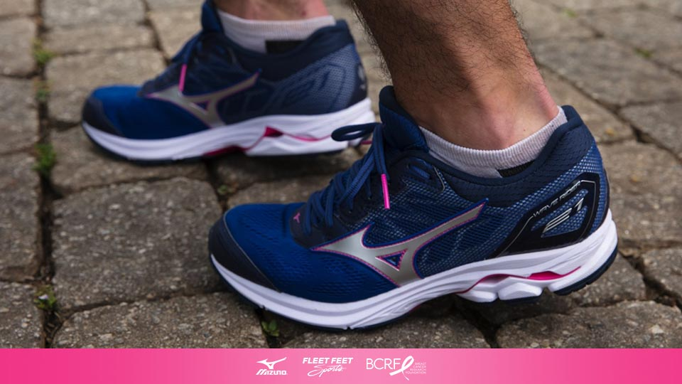 9c27413d5a441 Throughout October, Mizuno and Fleet Feet Sports will raise funds for  breast cancer research through #ProjectZero, an initiative supporting the  Breast ...