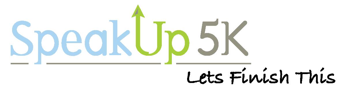 Speak Up 5K Logo