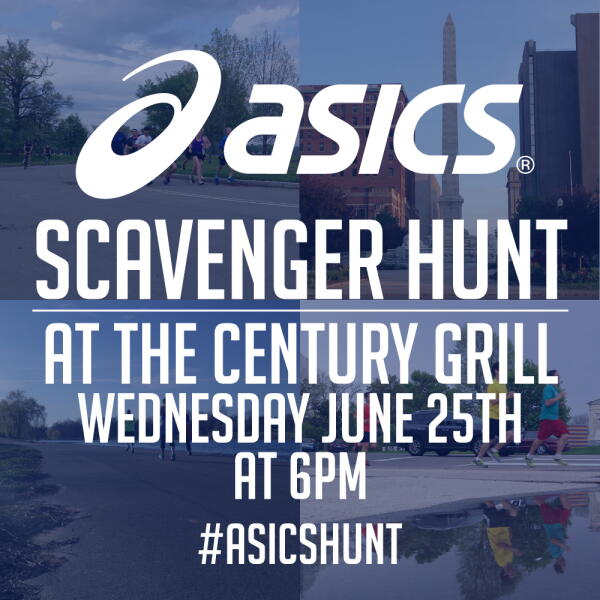 Asics Scavenger Hunt at Century Grill