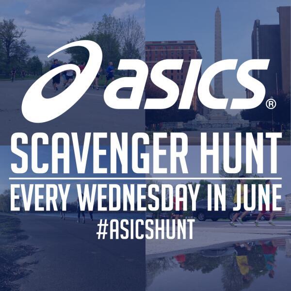 Asics Scavenger Hunt