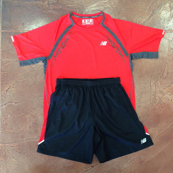 New Balance Men's Short Sleeve/Shorts Kit