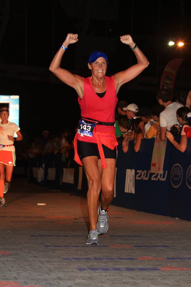 Trish has completed 2 Ironman Triathlons
