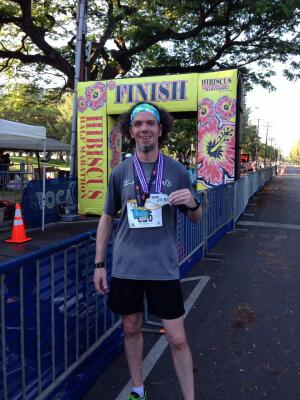 Doug finishes his 50th state in Hawaii