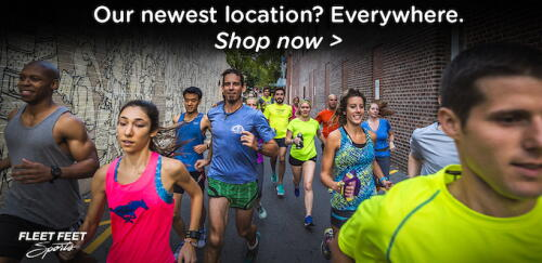 IMAGE OF RUNNERS SHOPPING ONLINE