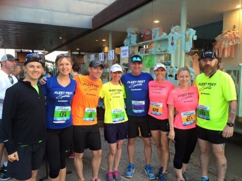 Fleet Feet runners at Run for Ryan House