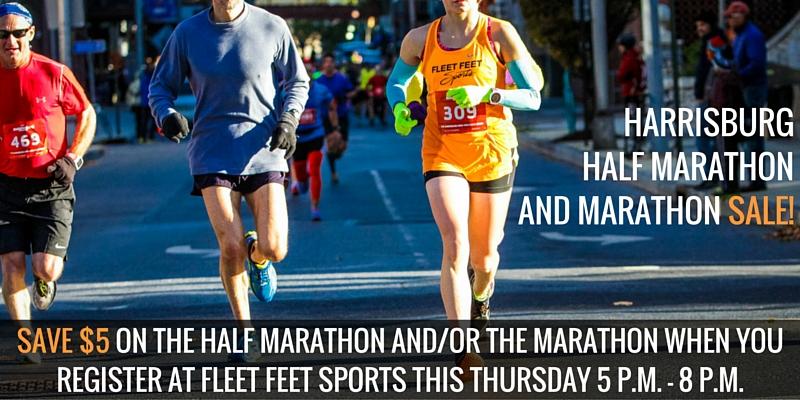 Half Marathon Calendar.Harrisburg Half Marathon And Marathon Sale Fleet Feet Mechanicsburg
