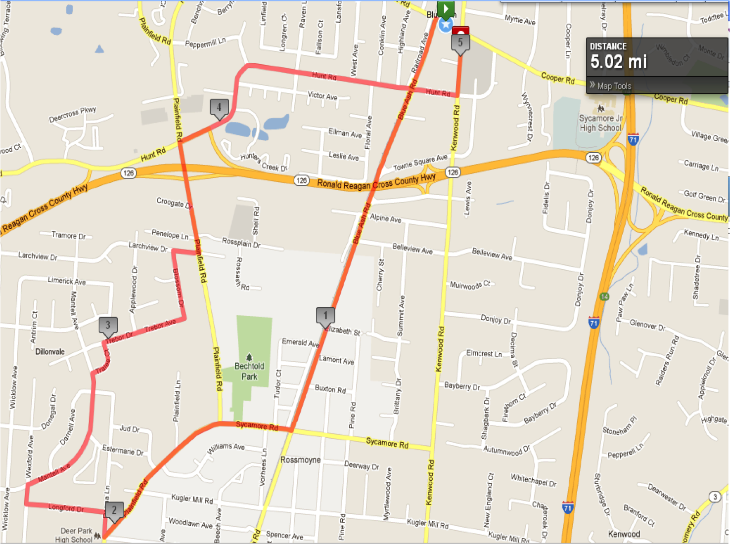 Local Running Routes - Fleet Feet Cincy