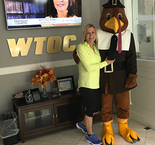 United Way Turkey Trot on WTOC Mid Morning Live