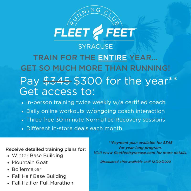 2021 Fleet Feet Syracuse Annual Running Club