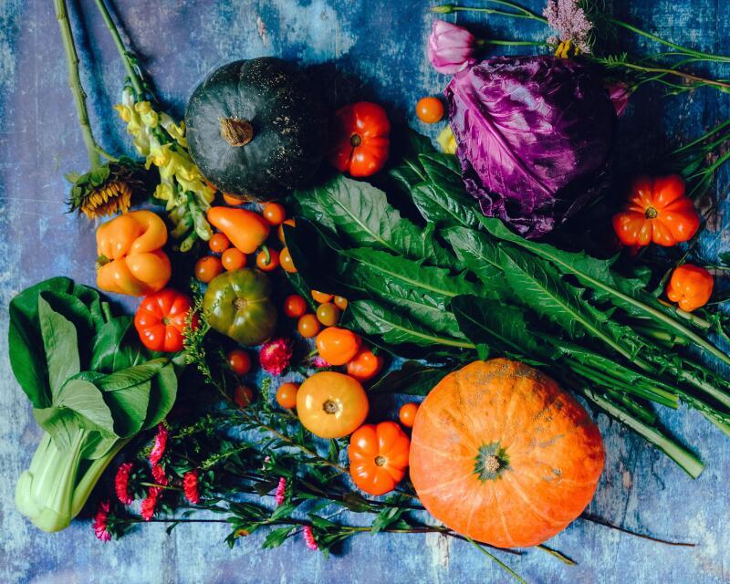 Fall Vegetables for Runners
