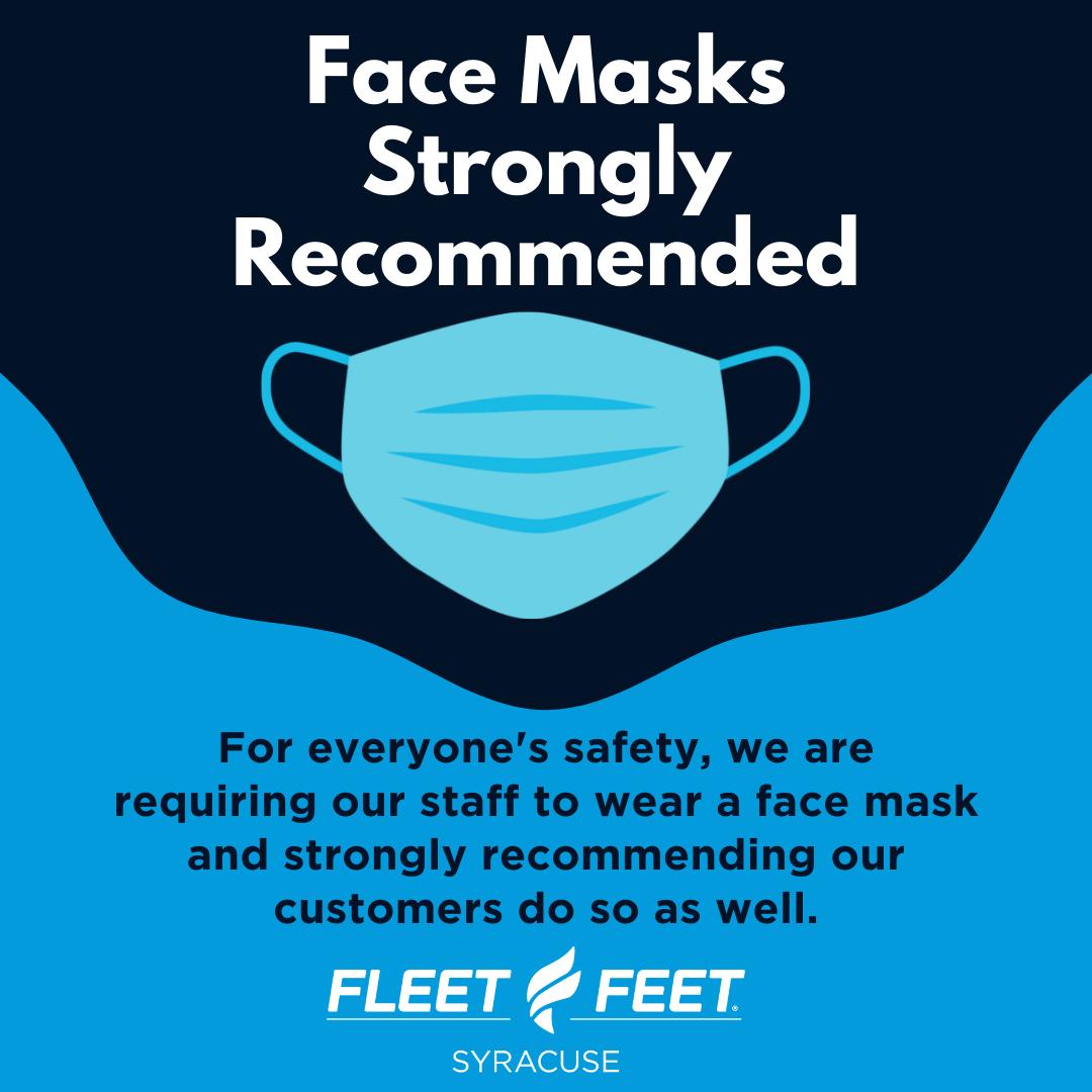 Mask Policy Fleet Feet Syracuse
