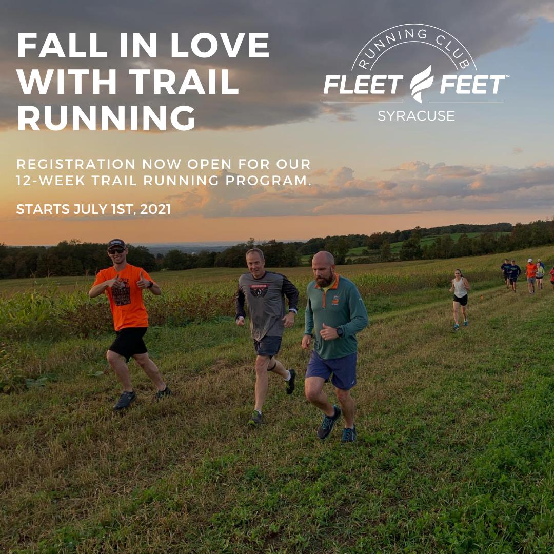 Trail Running group training syracuse ny