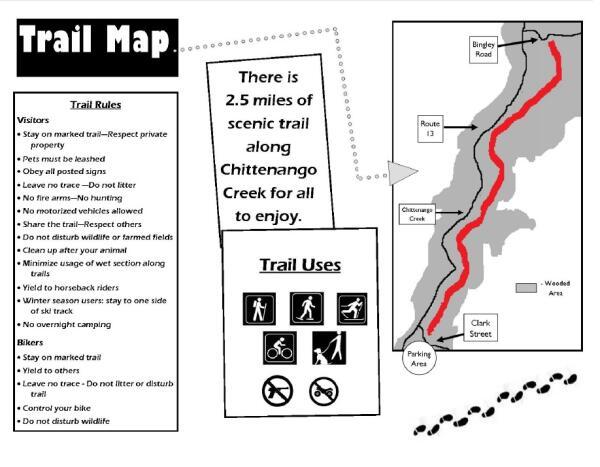 Gorge Trail Map Cazenovia