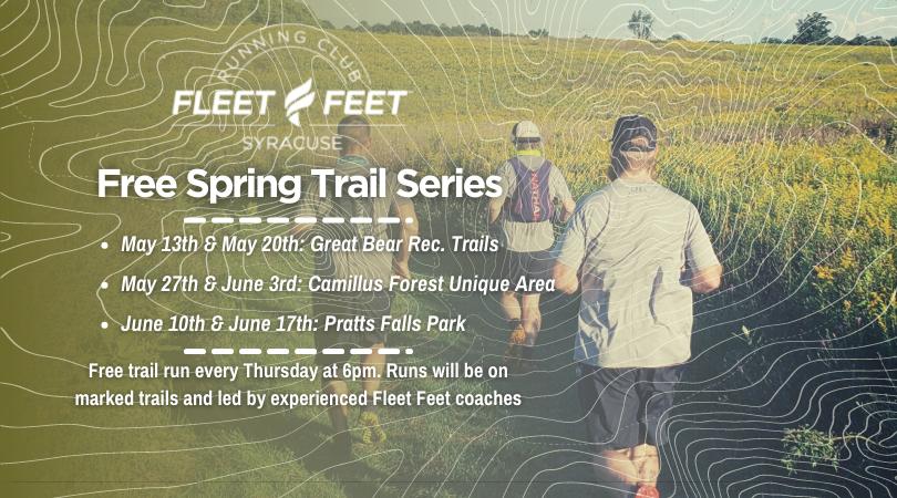trail running group fleet feet syracuse ny