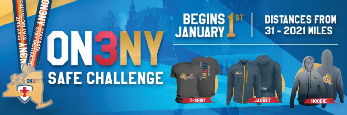 OneNY Safe Challenge Swag