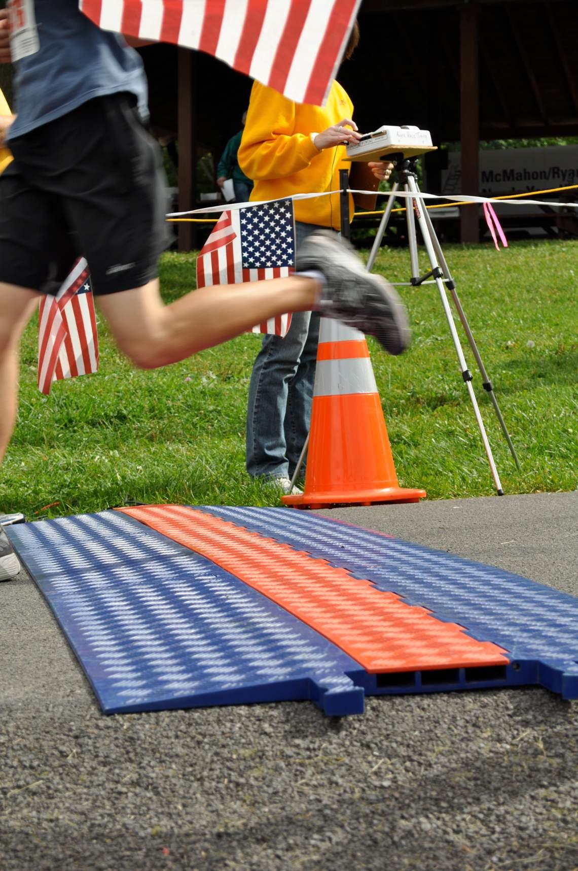 strathmore parks run finish line