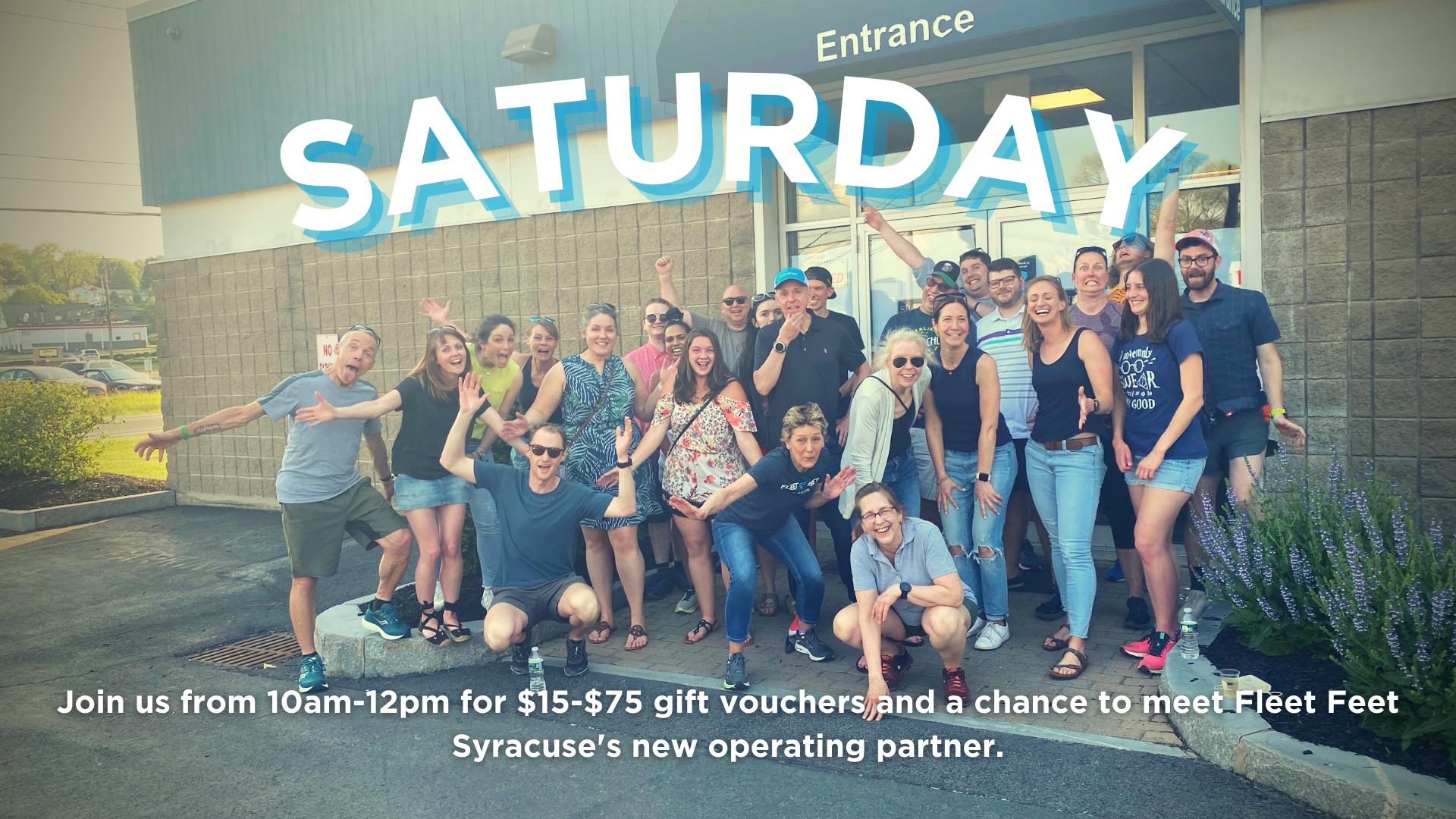 Fleet Feet Syracuse Staff meet and greet