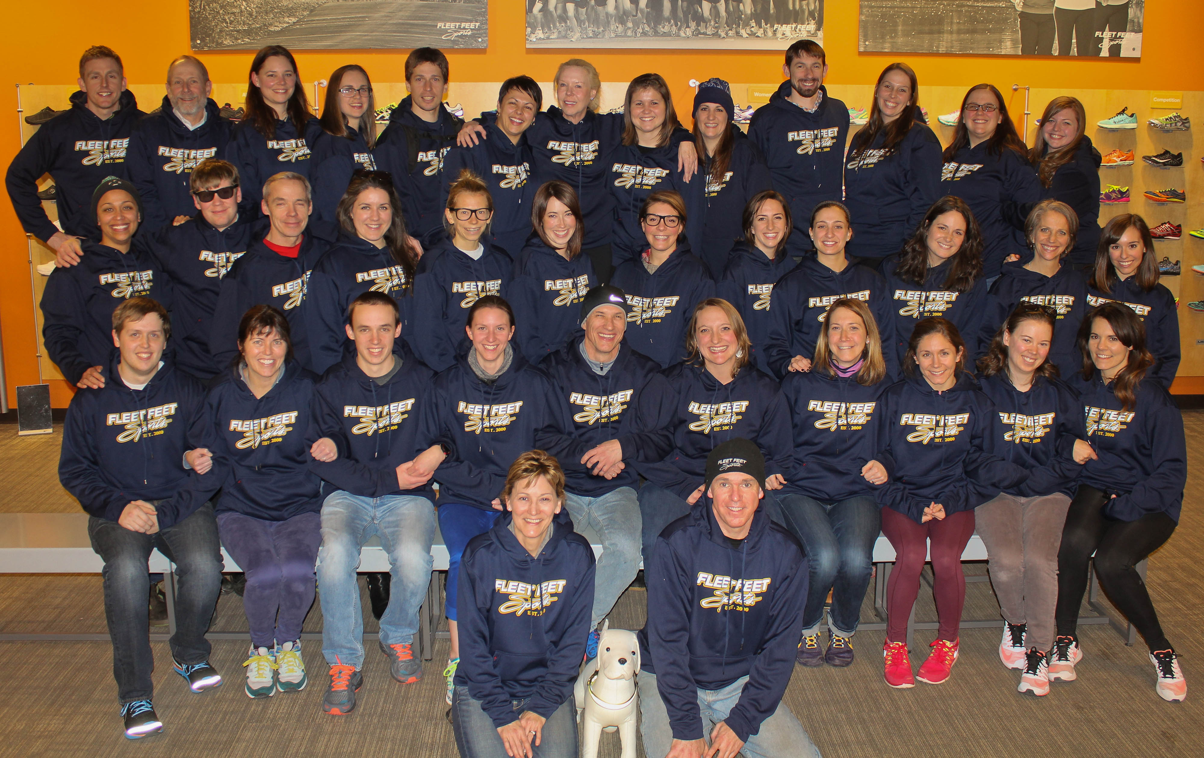Image: Fleet Feet Syracuse Staff, 2015