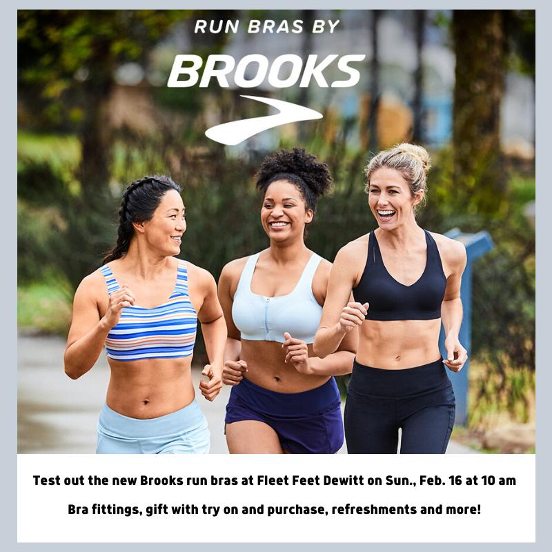 Brooks Run Bras at Fleet Feet Syracuse