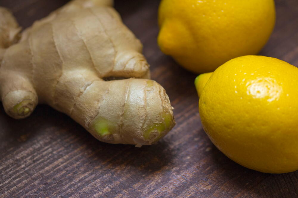 ginger and citrus for immune system