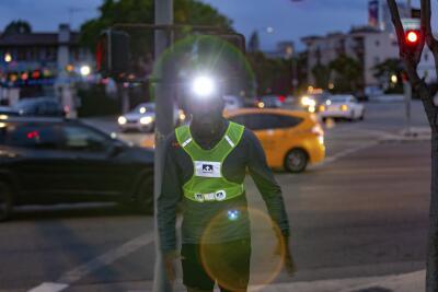 Headlamp visibility