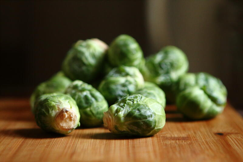 Winter training foods brussels sprouts