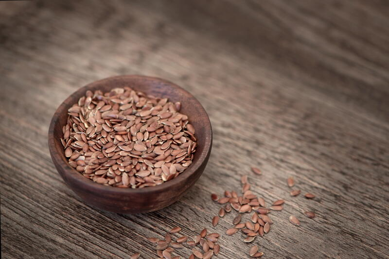 Flax seeds for recovery