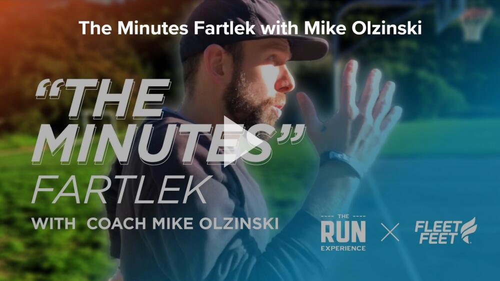mike olzinski fartlek run fleet feet syracuse