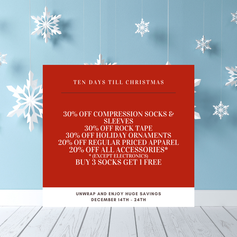 10 day Holiday Sale