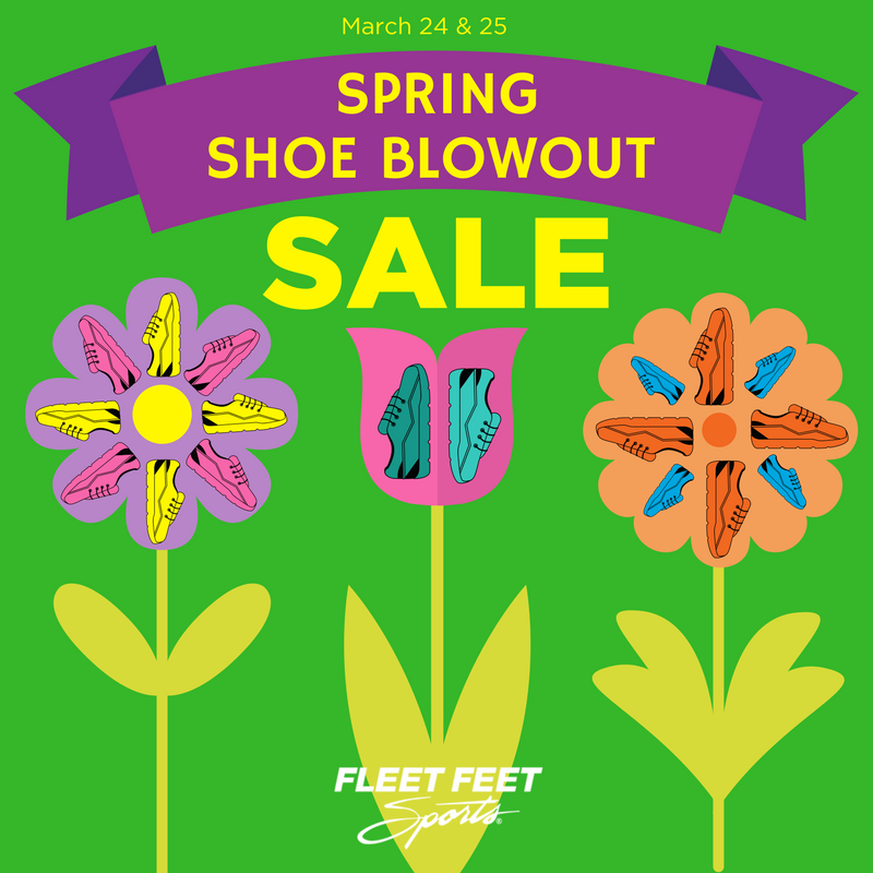 SPRING SHOE BLOWOUT
