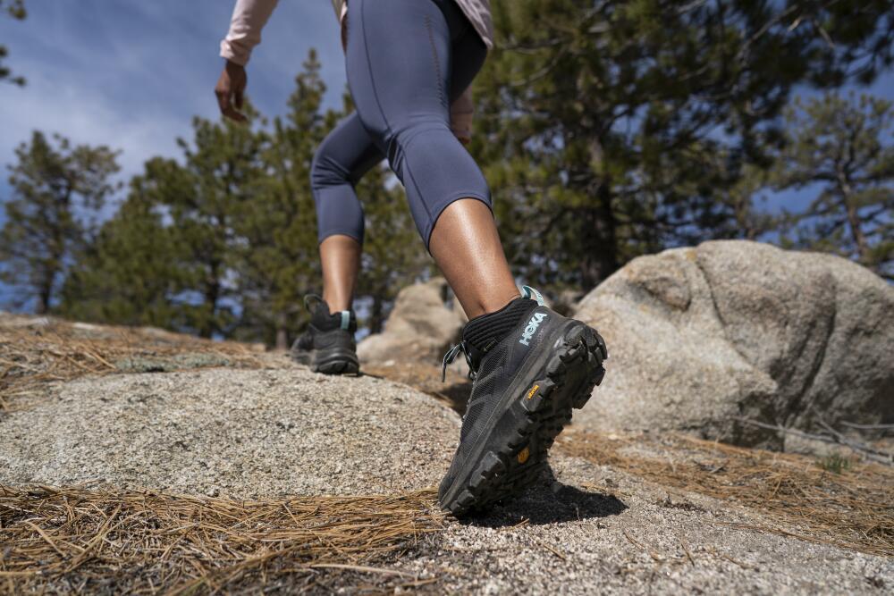 Hoka Toa Hiking boot lifestyle image 1