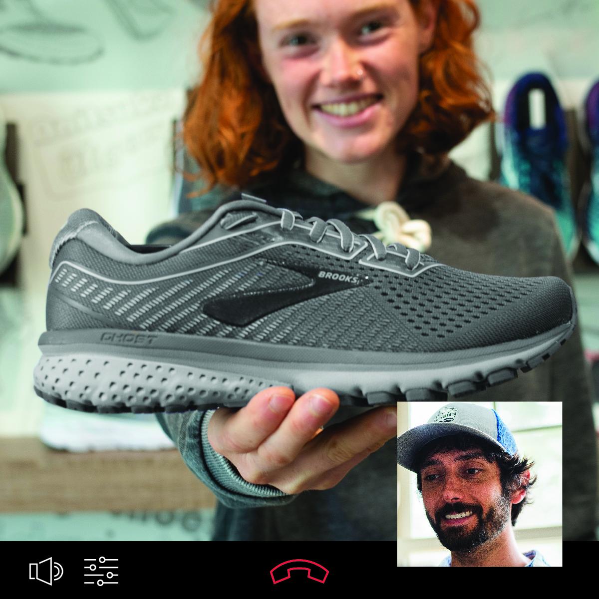Virtual fitting shoe selection