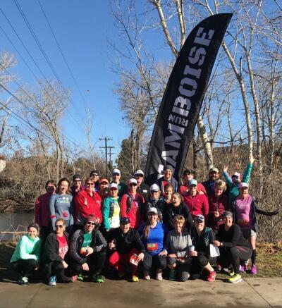 Team Run Boise before Final Kick's Run 4 Luv