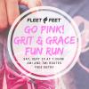 Go Pink! 2018 fun run flyer