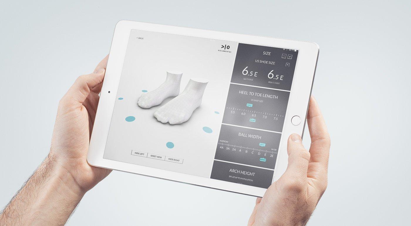 3D Fit ID Scanner - Fleet Feet Sports Vacaville