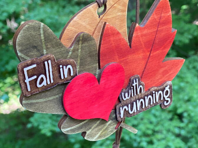Fall In Love With Running Medal