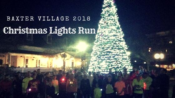 Baxter Village Xmas Light Run
