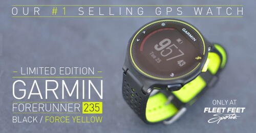 And It Was All Yellow: the Limited Edition Garmin Forerunner 235