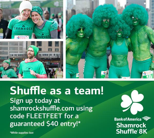 shamrock shuffle chicago coupon code 2019