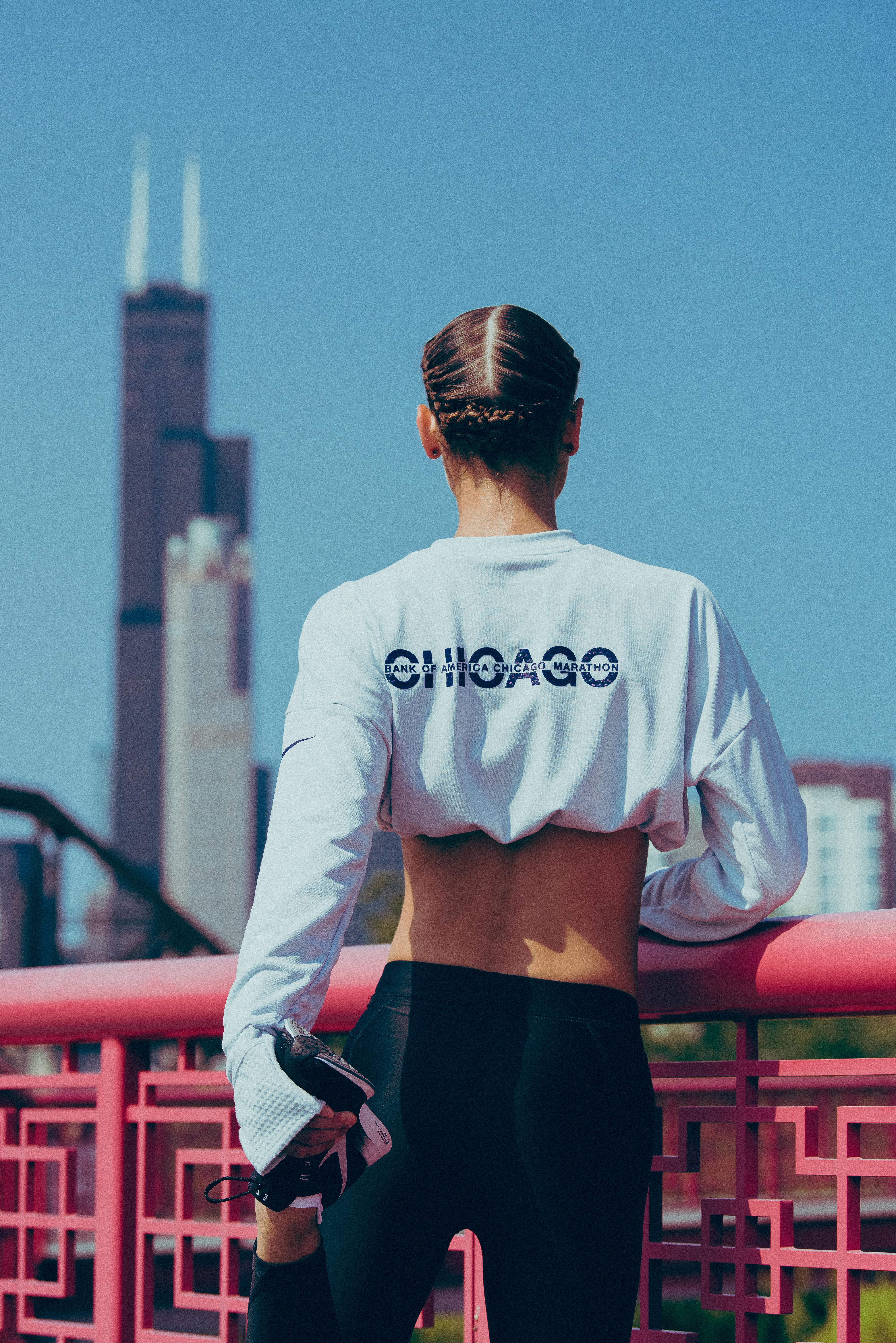 nike store chicago marathon gear