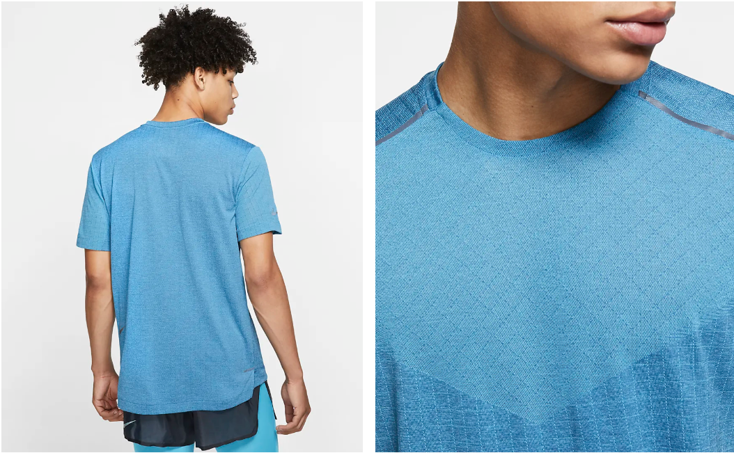 Men's Tech Pack Short Sleeve // Blue