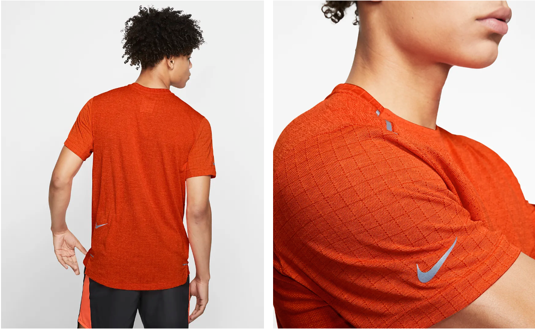 Men's Tech Pack Short Sleeve // Orange