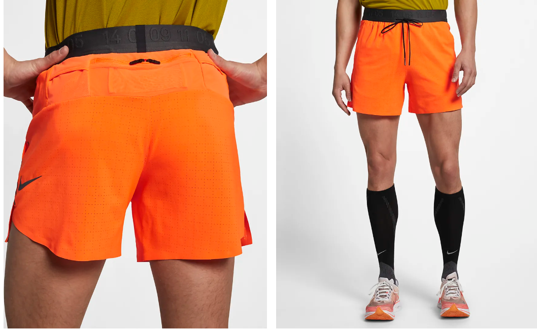 Men's Tech Pack Short // Orange