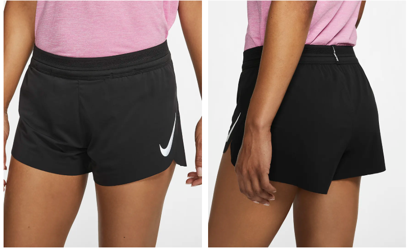 Women's Nike Aeroswift Short in Black