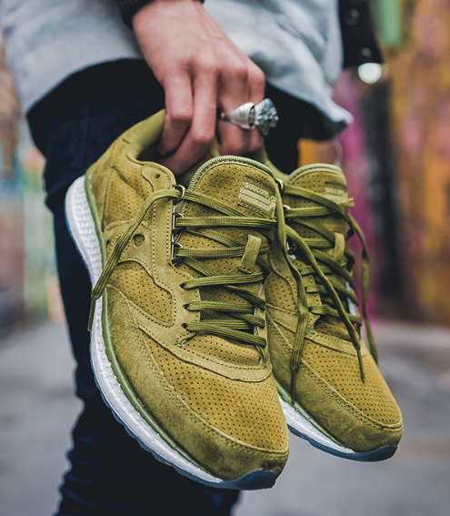 Old School Style, New Age Cushion in the Saucony Freedom Suede