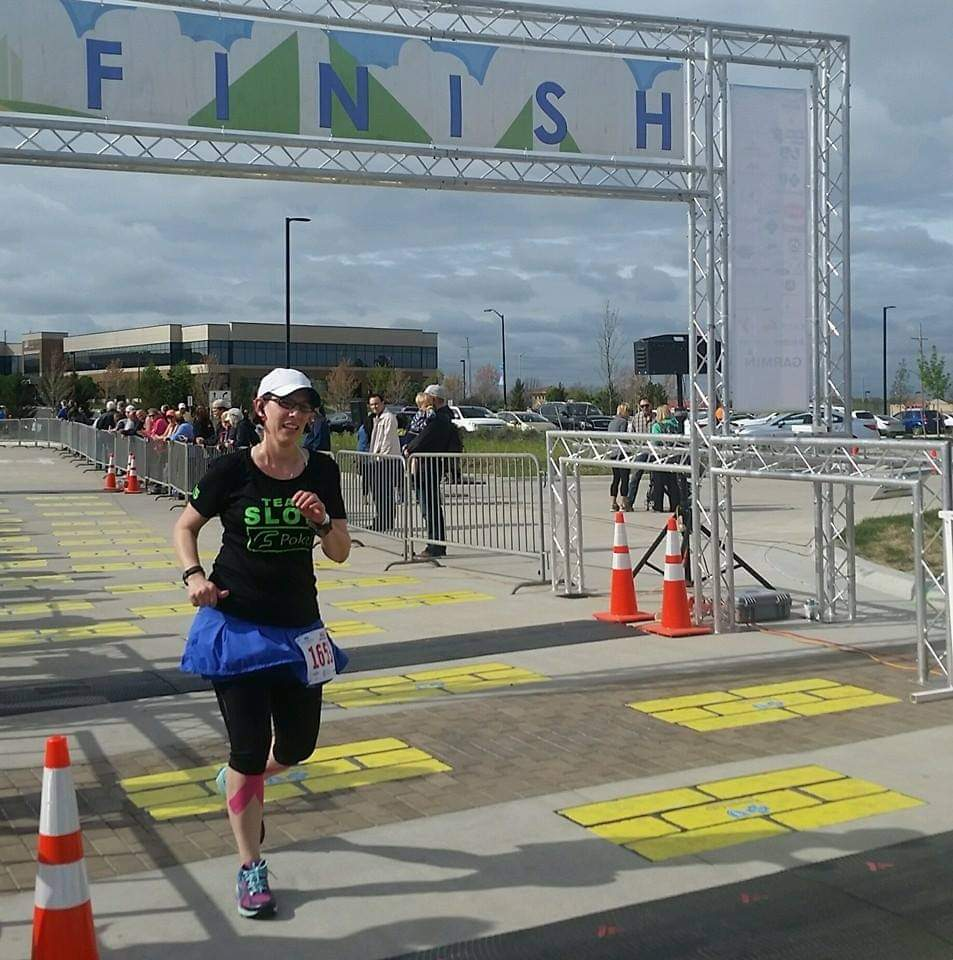 Libby crosses Kansas off of her half marathon list