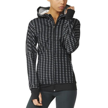The Adidas Houndstooth Jacket it great for both running and casual wear!